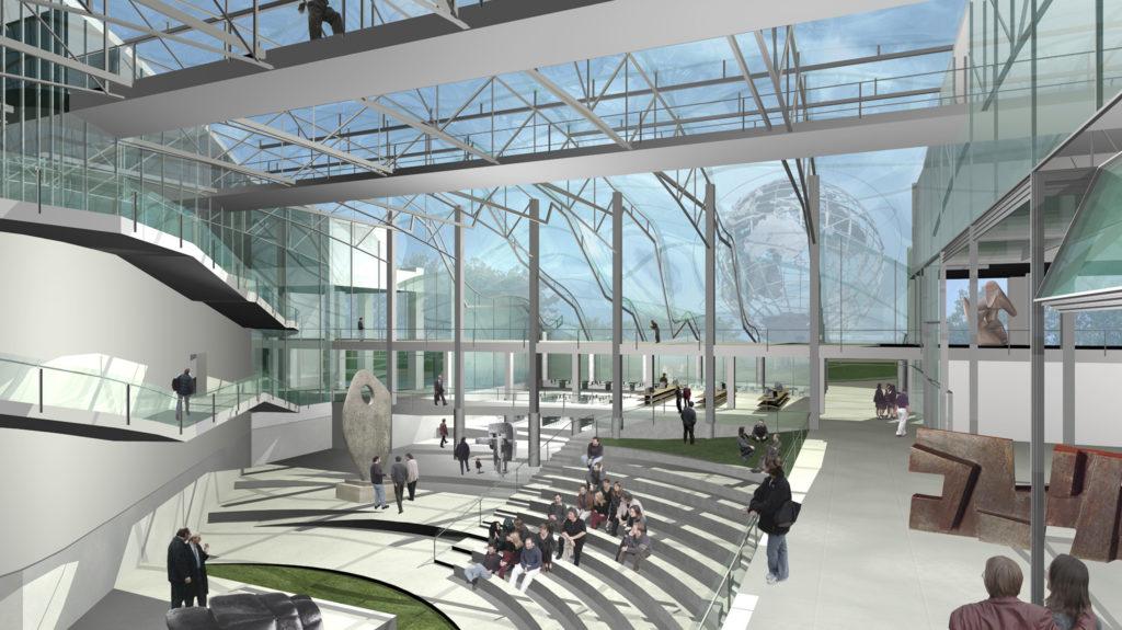 Queens Museum Of Art Eric Owen Moss Architects
