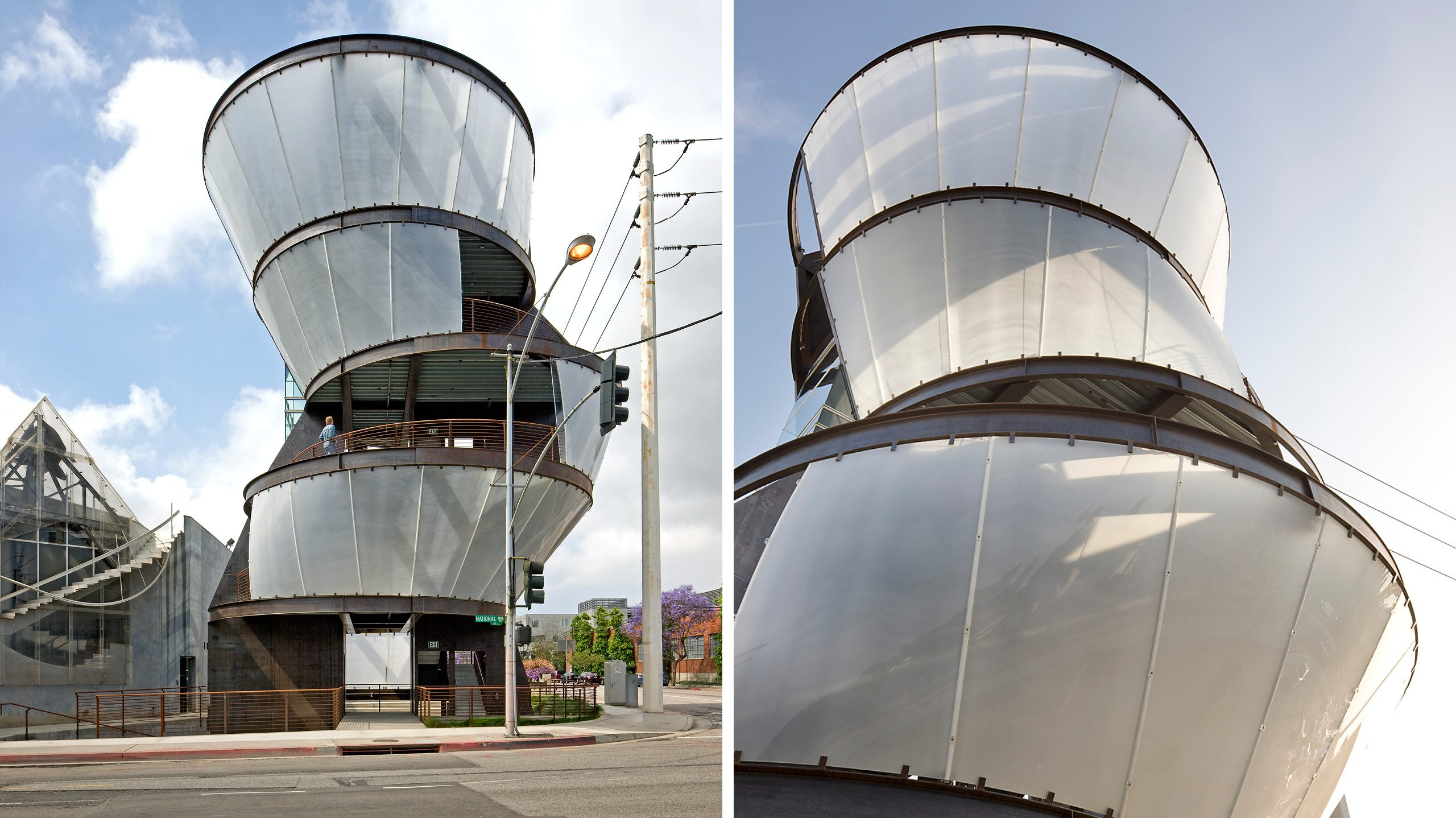 Samitaur Tower Eric Owen Moss Architects