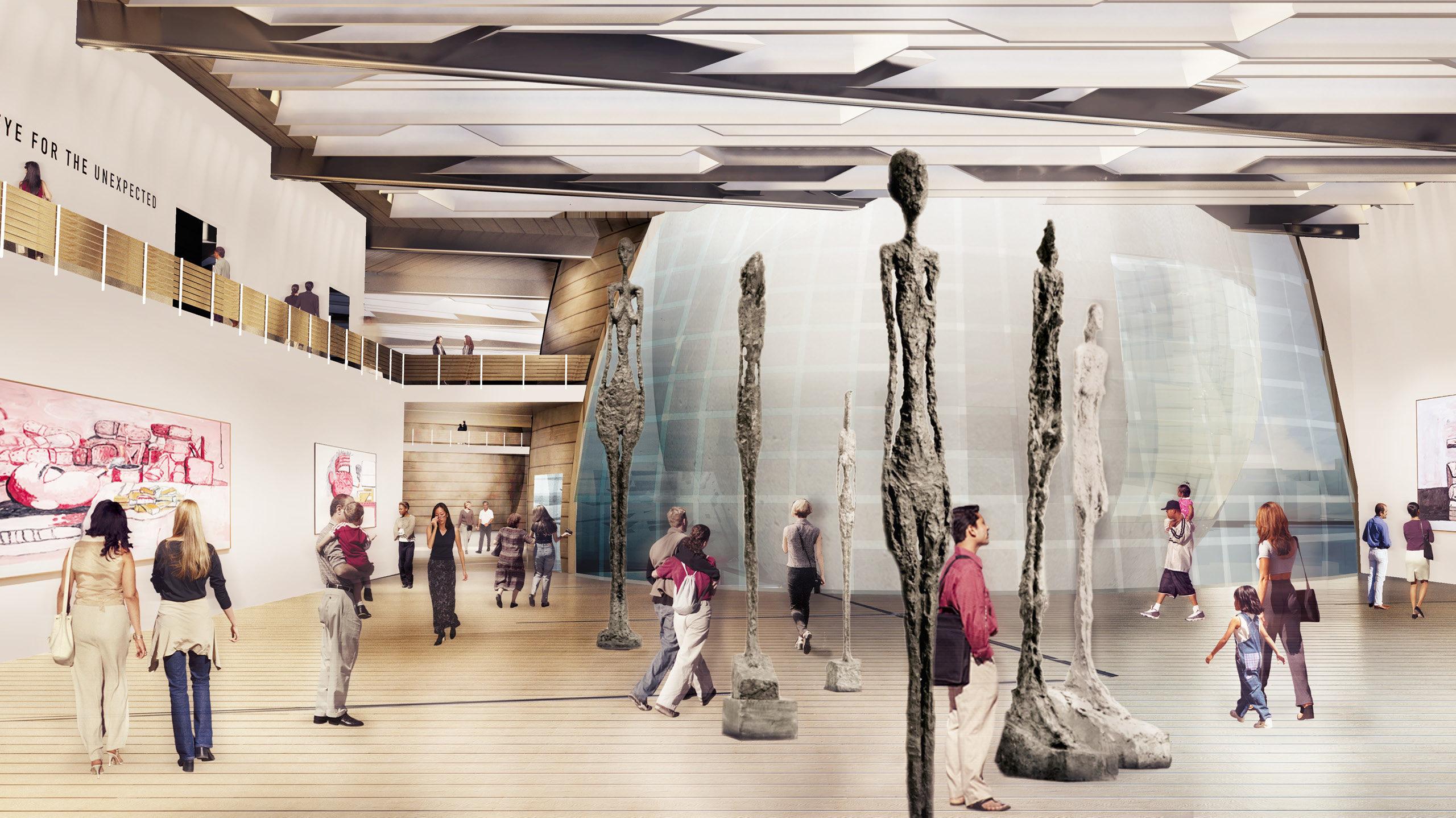 Guggenheim Helsinki Eric Owen Moss Architects